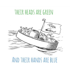 Their Heads Are Green and Their Hands Are Blue EP cover.